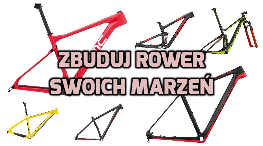Kup ramę i zbuduj wymarzony rower górski