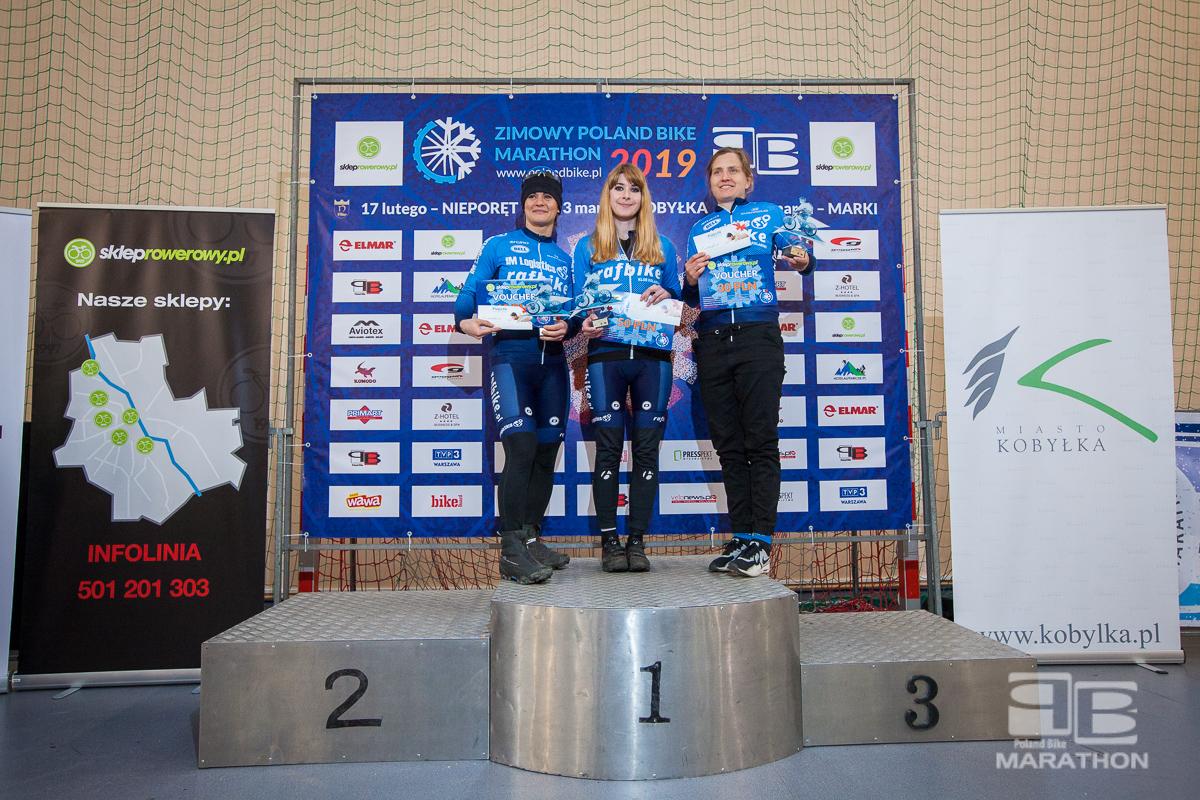 Ponad 370 uczestników zimowego maratonu Poland Bike w Kobyłce